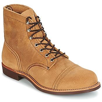 kengät Miehet Bootsit Red Wing IRON RANGER CAMEL
