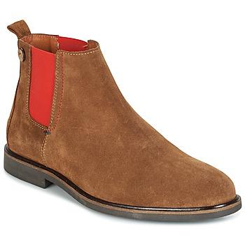 kengät Miehet Bootsit Faguo CORK02 Brown