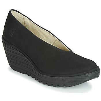 kengät Naiset Korkokengät Fly London CUPIDO Musta