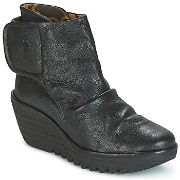 kengät Naiset Nilkkurit Fly London YOMI Black