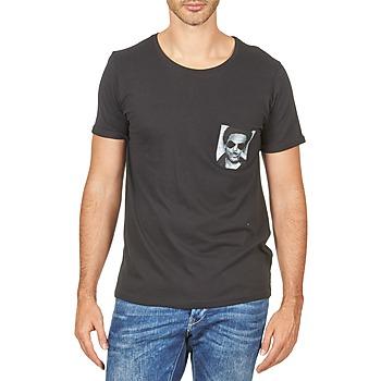 vaatteet Miehet Lyhythihainen t-paita Eleven Paris LENNYPOCK White