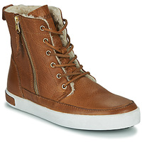 kengät Naiset Korkeavartiset tennarit Blackstone CW96 Ruskea