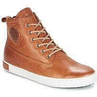 kengät Miehet Korkeavartiset tennarit Blackstone GM06 Brown