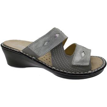kengät Naiset Sandaalit Calzaturificio Loren LOM2653gr grigio