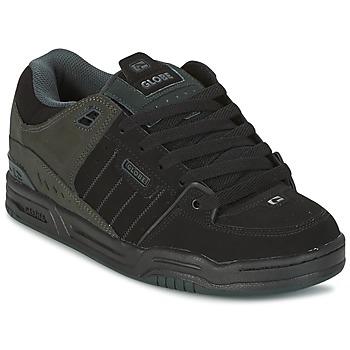 kengät Miehet Matalavartiset tennarit Globe FUSION Black