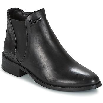 kengät Naiset Bootsit Les Tropéziennes par M Belarbi NACRE Black
