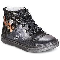 kengät Tytöt Bootsit Catimini ROUSSEROLLE Grey / Silver