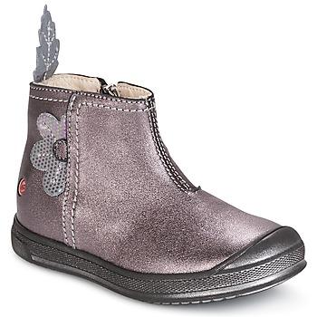 kengät Tytöt Bootsit GBB ROMANE Vihreä / keltainen / musta / De / Pink