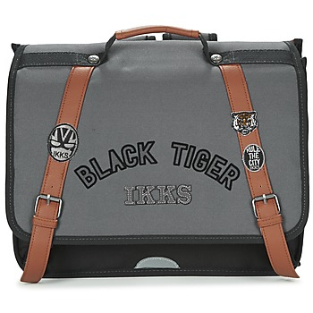 laukut Pojat Koululaukut Ikks BLACK TIGER CARTABLE 38CM Black / Grey / Brown