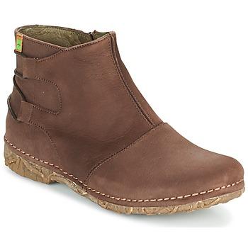 kengät Naiset Bootsit El Naturalista ANGKOR Brown
