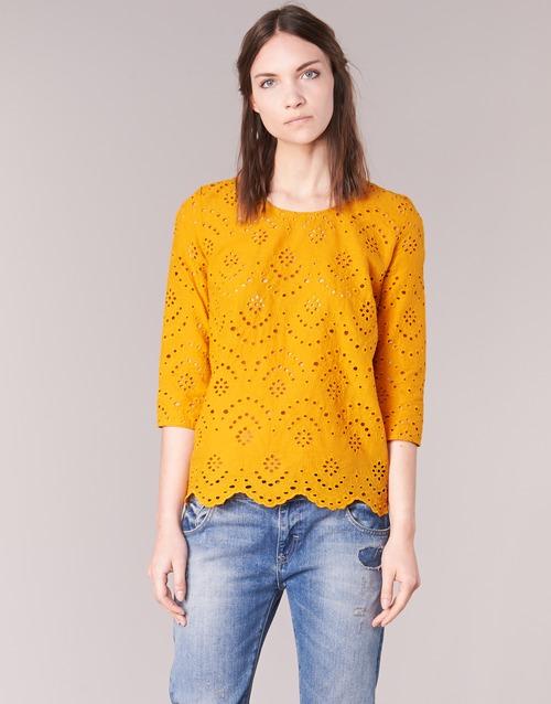 vaatteet Naiset Topit / Puserot Betty London GRIZ Yellow