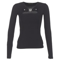 vaatteet Naiset Topit / Puserot Versace Jeans B2HQA732 Black
