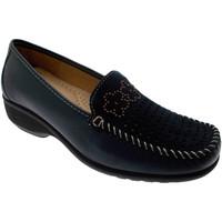 kengät Naiset Mokkasiinit Calzaturificio Loren LOK3971bl blu