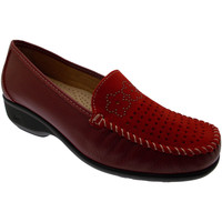 kengät Naiset Mokkasiinit Calzaturificio Loren LOK3971ro rosso