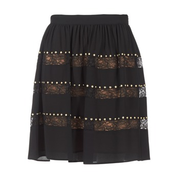 vaatteet Naiset Hame MICHAEL Michael Kors HT/ LACE MIX Black