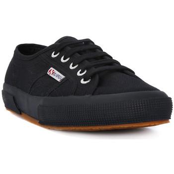 kengät Naiset Matalavartiset tennarit Superga COTU FULL BLACK CLASSIC Nero