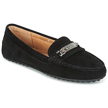 kengät Naiset Mokkasiinit Ralph Lauren BERDINE Black