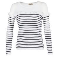 vaatteet Naiset Neulepusero Betty London HOMI Laivastonsininen / White