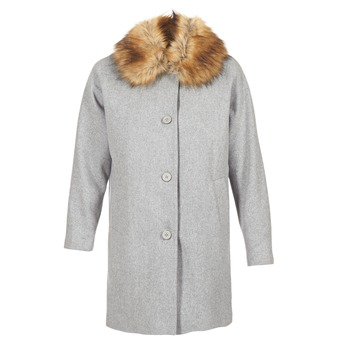 vaatteet Naiset Paksu takki Naf Naf ADOUTA Grey