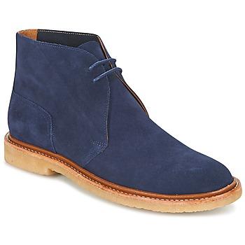 kengät Miehet Bootsit Polo Ralph Lauren KARLYLE Laivastonsininen