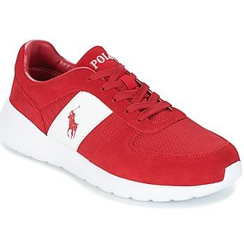 kengät Miehet Matalavartiset tennarit Polo Ralph Lauren CORDELL Red