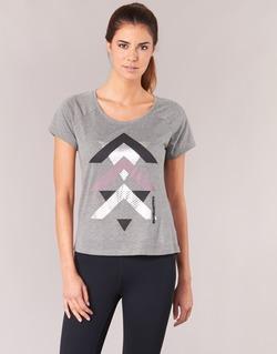 vaatteet Naiset Lyhythihainen t-paita Only Play LINDA Grey