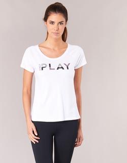 vaatteet Naiset Lyhythihainen t-paita Only Play LINDA White