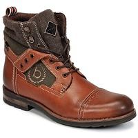 kengät Miehet Bootsit Bugatti MATINE COGNAC