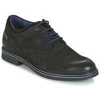 kengät Miehet Derby-kengät Bugatti MARGE Black