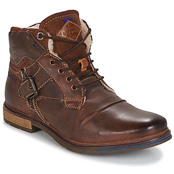 kengät Miehet Bootsit Bugatti LENIL Brown / Fonce