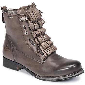 kengät Naiset Bootsit Bugatti PETRI Grey / Fonce