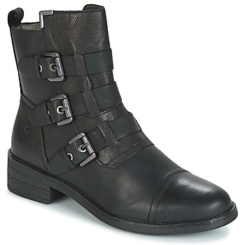 kengät Naiset Bootsit Bugatti POMO Grey / Fonce