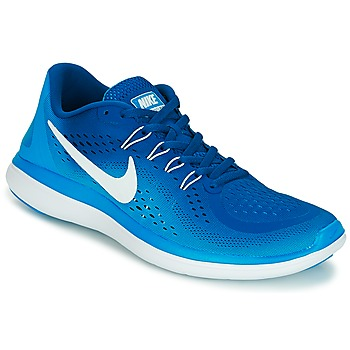 kengät Miehet Juoksukengät / Trail-kengät Nike FLEX 2017 RUN Blue