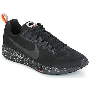 kengät Miehet Juoksukengät / Trail-kengät Nike AIR ZOOM STRUCTURE 21 SHIELD Black