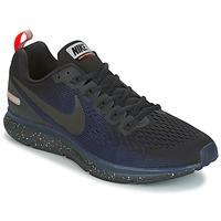 kengät Miehet Juoksukengät / Trail-kengät Nike AIR ZOOM PEGASUS 34 SHIELD Black / Blue