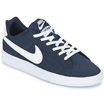 kengät Pojat Matalavartiset tennarit Nike COURT ROYALE GRADE SCHOOL Blue / White
