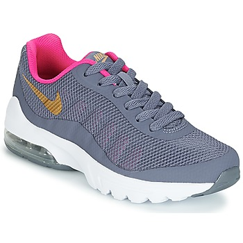 kengät Tytöt Matalavartiset tennarit Nike AIR MAX INVIGOR GRADE SCHOOL Blue / Pink