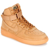 kengät Lapset Korkeavartiset tennarit Nike AIR FORCE 1 HIGH WB GRADE SCHOOL Hunaja