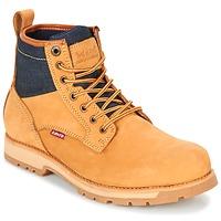 kengät Miehet Bootsit Levi's LOGAN Yellow