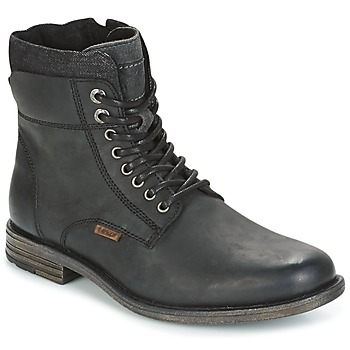 kengät Miehet Bootsit Levi's EMERSON COLLAR Black