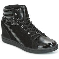 kengät Naiset Korkeavartiset tennarit Versace Jeans GERFI Black