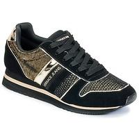 kengät Naiset Matalavartiset tennarit Versace Jeans LETRE Black / DORE