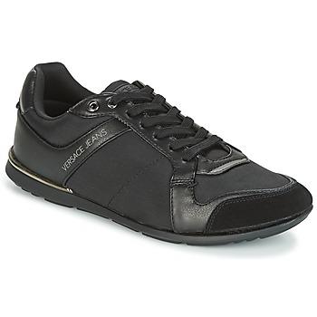 kengät Miehet Matalavartiset tennarit Versace Jeans TERU Black