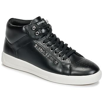 kengät Miehet Korkeavartiset tennarit Versace Jeans TERMI Black