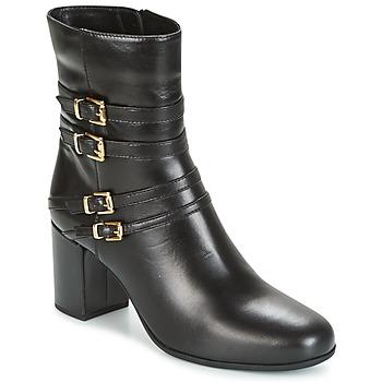 kengät Naiset Nilkkurit Unisa OPRA Musta
