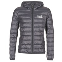 vaatteet Miehet Toppatakki Emporio Armani EA7 TRAIN CORE ID DOWN LIGHT HD Grey