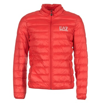 vaatteet Miehet Toppatakki Emporio Armani EA7 TRAIN CORE ID DOWN LIGHT JKT Red