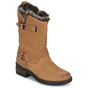 kengät Naiset Bootsit Superdry TEMPTER BOOT Brown