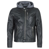 vaatteet Miehet Nahkatakit / Tekonahkatakit Oakwood 62579 Black