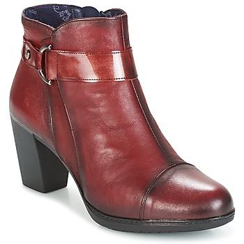 kengät Naiset Nilkkurit Dorking EVELYNE Red